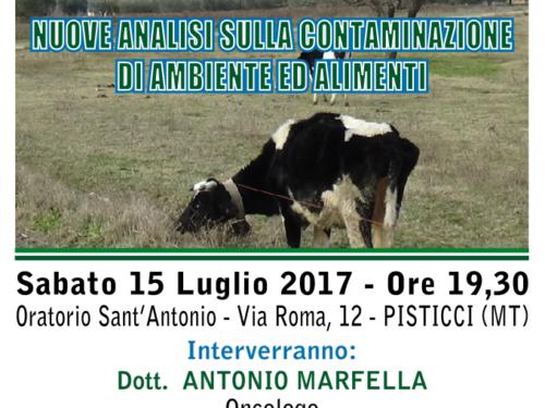 Il debito ecologico di Pisticci (pubblico incontro)