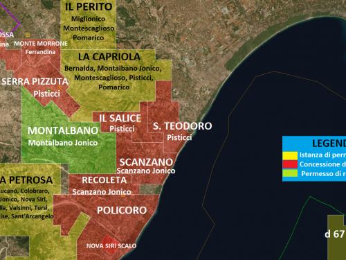 Un NO netto di MTV alle estrazioni petrolifere in Basilicata