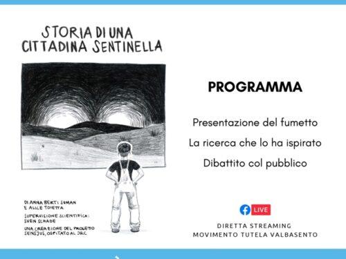 """MTV presenta il fumetto di Anna Berti Suman """"Storia di una cittadina sentinella"""""""